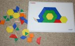 pattern blocks & puzzle cards