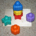 stacking tower baby toy