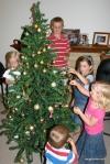 decorating the tree2012