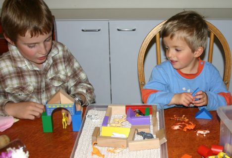 b and J using animal busy box IMG_8561