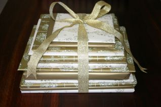 books advent wrapped